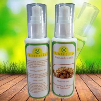 obat perawatan rambut keluarga - vitamin penumbuh penyubur penghitam Gambar Minyak Kemiri Yang Asli