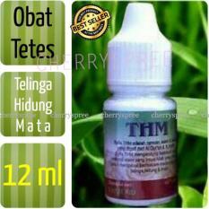 Obat Tetes Natural THM Herbal Alami Obat tetes mata, telinga, hidung Meredakan Peradangan Mata