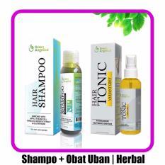 Jual Obat Uban Penghitam Rambut Shampo Green Angelica Untuk Rontok Ketombe Jawa Timur Murah