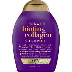 Ongkos Kirim Ogx Thick Full Biotin Collagen Shampoo 13 Oz Di Indonesia