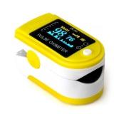 Spesifikasi O Memimpin Tekanan Darah Oksigen Jari Ujung Jari Pulsa Oksimeter Oxymeter Memantau Kuning Bagus