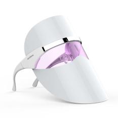 Spesifikasi Oh Merah Led Light Face Mask Meningkatkan Sirkulasi Darah Wajah Pijat Putih Paling Bagus