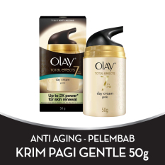 Toko Olay Anti Aging Pelembab Total Effects Day Cream Gentle 7 In 1 50Gr Olay