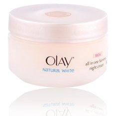 Obral Olay Natural White Rich Night Cream 50 Gr Murah