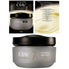 Olay Total Effect 7 in One Anti Ageing Night Cream - 50gr
