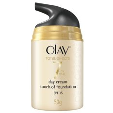 Beli Olay Total Effect Touch Of Foundation Spf15 50 G Murah Indonesia