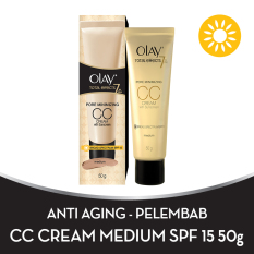 Olay Total Effects 7 in One Pore Minimizing CC Cream SPF 15 Medium - 50gr