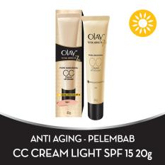 Olay Total Effects Pore Minimizing Cc Cream Light 20 Gr Olay Diskon