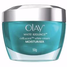 Olay White Radiance Cellucent Shape Memory Cream - 50gr