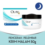 Spesifikasi Olay White Radiance Intensive Night Cream 50Gr Baru
