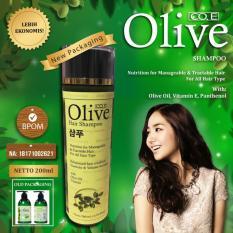 Olive Shampo - Shampoo Pemanjang Rambut Dan Memperkuat Rambut - 1 Botol 200ml