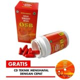 Toko Omar Smart Brain Osb 60 Kapsul Vitamin Nutrisi Otak Bonus Cd Teknik Menghafal Cepat Vitabrain Brainplus Iq Online Terpercaya