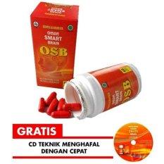 Perbandingan Harga Omar Smart Brain Osb 60 Kapsul Vitamin Nutrisi Otak Bonus Cd Teknik Menghafal Cepat Vitabrain Brainplus Iq Di Jawa Barat