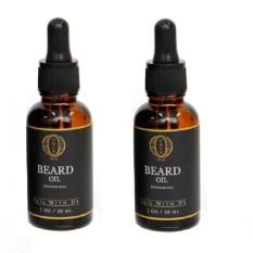 Review Tentang Ombak Beard Oil Minyak Penumbuh Kumis Jenggot Jambang 2 Botol