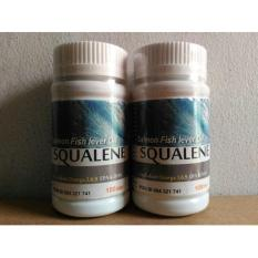 Review Omega Salmon Fish Lever Oil Squalene Kaya Akan Omega 3 6 9 Epa Dha 100 Softgel Paket 2 Botol