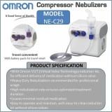 Omron Original Ne C29 Compressor Nebulizer Murah