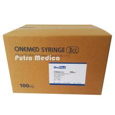 Beli Putra Medica Onemed Disposable Syringe 3Ml 1Box Spuit Spuilt Alat Suntik Injection Suntikan Cicilan
