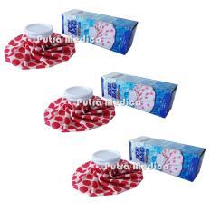 Spesifikasi Putra Medica Onemed Ice Bag Merah Putih 3Pcs Kompres Es Batu Kompress Air Dingin Terbaik