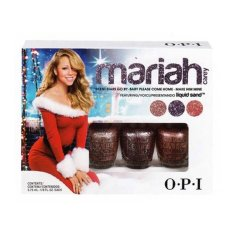 Jual Ready Stock Opi Mini Mariah Carey Liquid Sand Trio 1 Lengkap