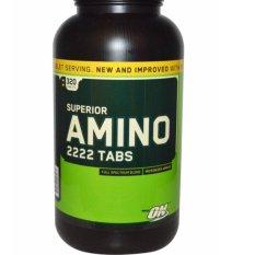 Toko Optimum Nutrition Amino 2222 Eceran 100 Tabs Murah Di Dki Jakarta