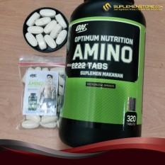 Spesifikasi Optimum Nutrition Amino 2222 Eceran 20 Tabs Beserta Harganya