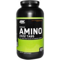Beli Optimum Nutrition Amino Superior Amino 2222 320 Tabs Cicilan