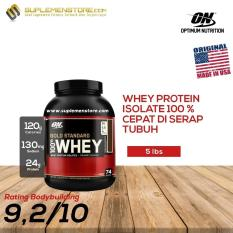 Optimum Nutrition Gold Standard Whey Protein 5lbs