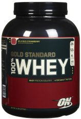 Iklan Optimum Nutrition On Gold Standard Whey Protein 5Lbs Delicious Strawberry