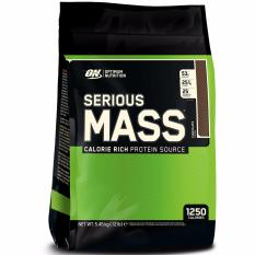 Review Optimum Nutrition Serious Mass 2 Lbs Coklat Eceran Optimum Nutrition