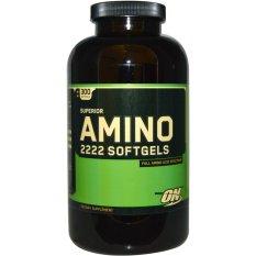 Tips Beli Optimum Nutrition Amino 2222 Eceran 20 Tabs