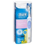 Review Oral B Vitality Sensitive Clean Rechargeable Toothbrush Dki Jakarta