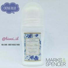 Jual Original Marks Spencer Floral Collection Anti Perspirant Deodorant China Blue Bianzi Ori