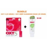 Cuci Gudang Original Oxy 5 Obat Jerawat Tingkat Sedang Acne Pimple Untuk Jerawat Bestseller 25Gr 1 Buah Oxy Deep Cleansing Wash 50 Gr 1 Buah