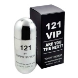 Jual Original Parfum For Men 121 Vip Tommy Hanson Silver Black Edp 80Ml Branded