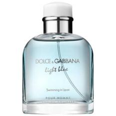 Original Parfum Tester Dolce Gabbana Light Blue Swimming In Lipari Edt