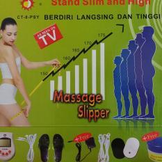 Harga Original Sunmass Alat Pijat Kaki Therapy Kaki Sandal Kesehatan Sunmas Sandal Pijat Elektrik Ct Cream Peninggi Badan Alkes Original