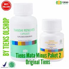Harga Original Tiens Paket Obat Herbal Mata Minus 1 Renuves 1 Vitaline By Tiens Olshop Free Gift Free Konsultasi Asli