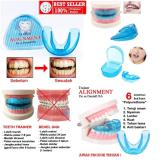 Jual Orthodentic Retainer Teeth Trainer Alignment Behel Gigi Merapikan Gigi Satu Set