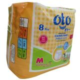 Jual Oto Popok Dewasa Diapers Pants Model Celana Ukuran M Isi 8 Pcs Import