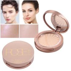 O. Dua. O Bedak Padat Oil-control Mencerahkan Waterproof Flawless Powder dengan Puff Face Makeup #4-Intl