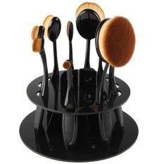 Jual Beli Online Oval Brush Holder Black