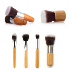 Toko Ovonni 6 Pcs Bambu Makeup Brush For Eyeshadow Conceal Foundation Kosmetik Porta Intl Lengkap Di Tiongkok