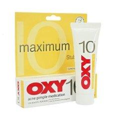 Harga Oxy 10 Acne Pimple 10 Gr Termurah