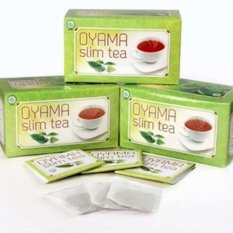 Harga Oyama Slim Tea 1 Box 20 Tea Bag Online Dki Jakarta