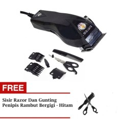 Dimana Beli Padasuka 134 Happy King Hair Clipper Gunting Pemotong Rambut Black Multi