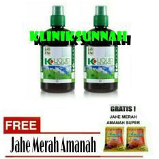 Beli Paket 2 Botol K Link Klorofil Liquid Chlorophyll 500 Ml Jahe Merah Online Terpercaya