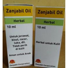 paket 2 pcs Obat Jerawat, obat Bisul, obat Luka, obat Cacar Herbal Zanjabil Oil Buatan Indonesia