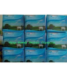 Beli Susu Bubuk Kambing Etawa Sky Goat Original 1 Bok Isi 10 Saset Paket 8 Boks Online Terpercaya