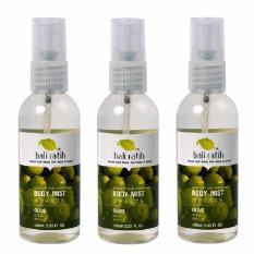 Toko Paket Bali Ratih Body Mist 3 Pc Olive 60Ml Dekat Sini