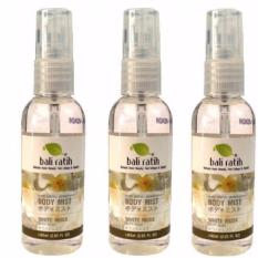 Paket Bali Ratih Body Mist 3pc - White Musk 60 ml